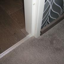 Overgang laminaat / vloerbedekking